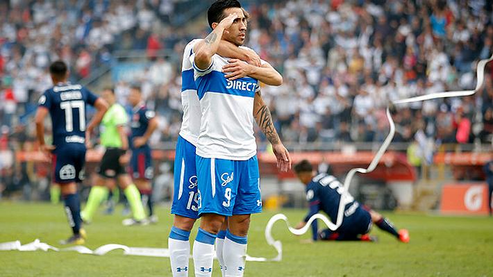 Católica juega a gran nivel y humilla a la U que se hunde aún más en la zona descenso del torneo
