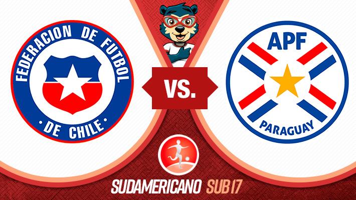 """Revive el empate de la """"Roja"""" Sub 17 ante Paraguay en el Sudamericano"""