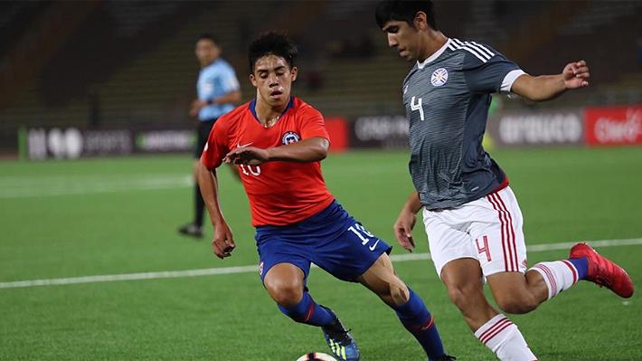 """La """"Roja"""" solo empató ante Paraguay y finalizó subcampeón del Sudamericano Sub 17"""