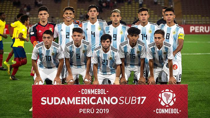 """La """"Roja"""" quedó a un gol de la gloria: Mira cómo terminó el hexagonal del Sudamericano Sub 17 y los clasificados al Mundial"""