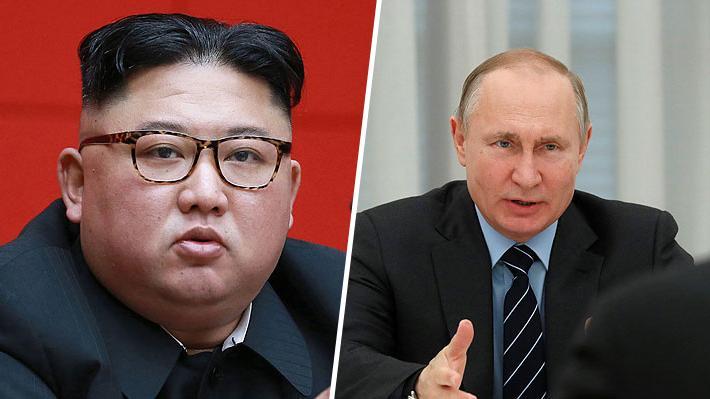 Rusia confirma que se prepara una reunión entre Vladimir Putin y Kim Jong-un