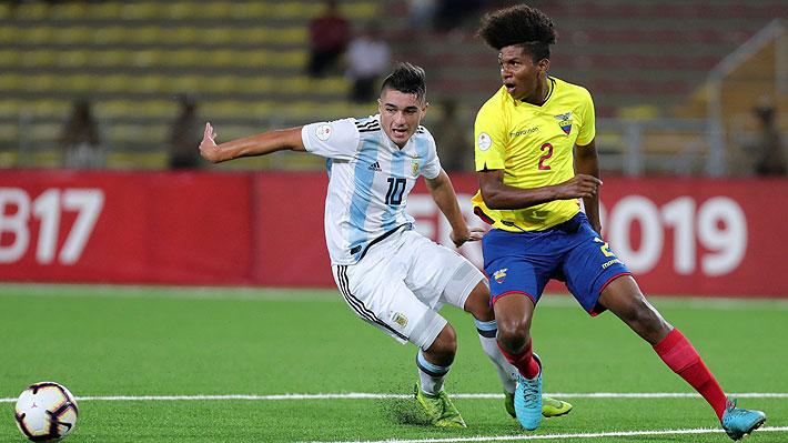 """Estalla la polémica: En Perú acusan a Argentina de dejarse golear por Ecuador en el Sub 17 y hablan de """"un partido turbio"""""""