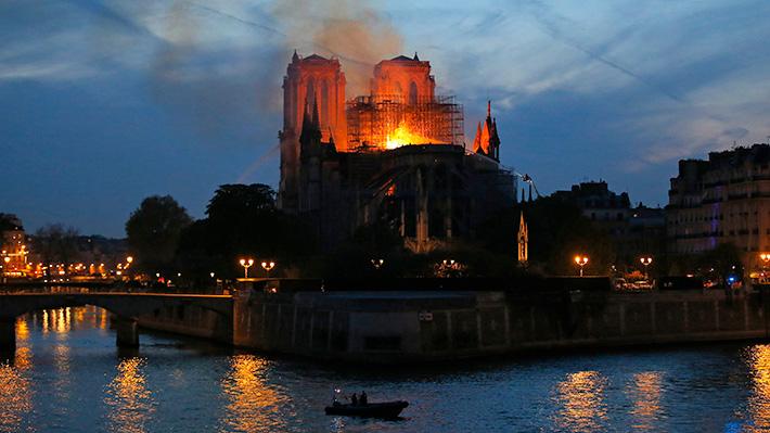Notre Dame se suma a la lista: Otras catedrales del mundo que han sufrido incendios en los últimos 30 años