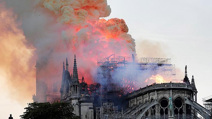 """Alcaldesa de París propone una """"conferencia internacional de donantes"""" para reconstruir catedral de Notre Dame"""