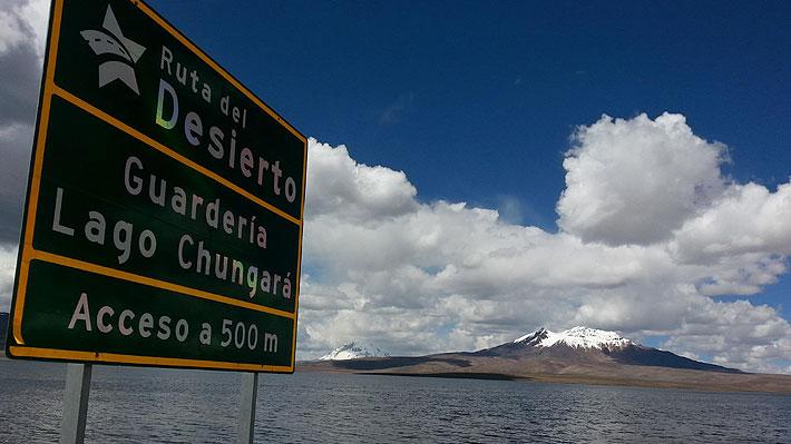 Evalúan daño ambiental en el lago Chungará por derrame de petróleo