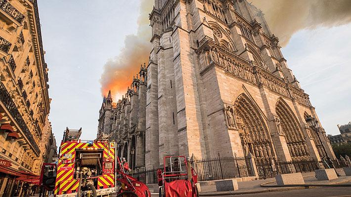 Donaciones para la reconstrucción de Notre Dame: Empresas, Liga de Fútbol y una ciudad suman sus aportes económicos