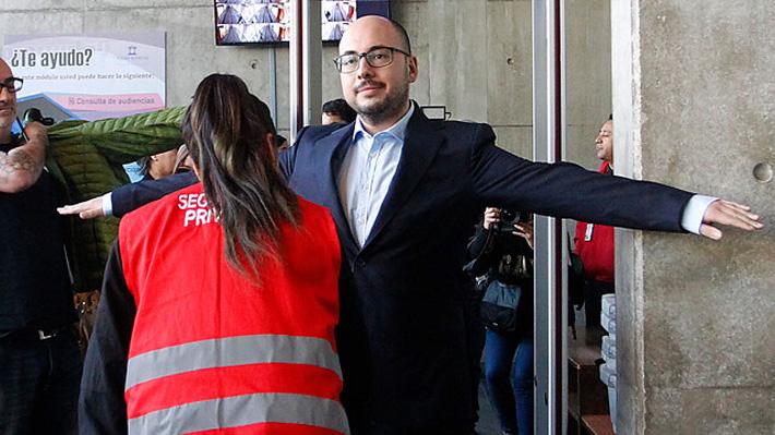 """Nicolás López llega a su audiencia de formalización: """"Vengo a demostrar que soy inocente"""""""
