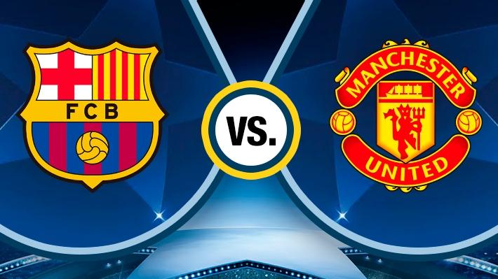 Mira cómo se dio la goleada del Barcelona sobre el Manchester United por la Champions