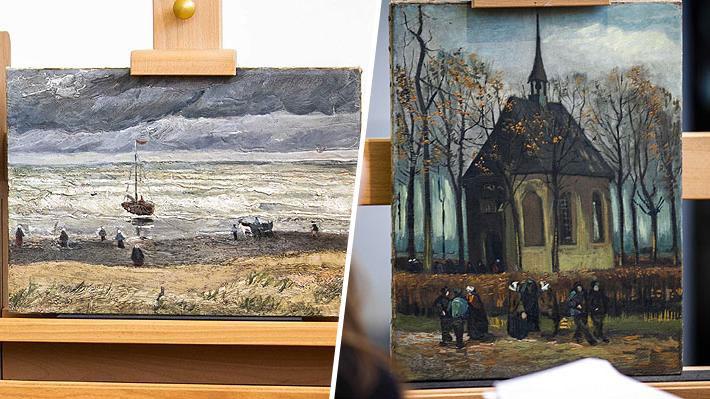 Vuelven a exhibir en Amsterdam dos cuadros de Van Gogh robados en 2002 y que terminaron en manos de la mafia italiana