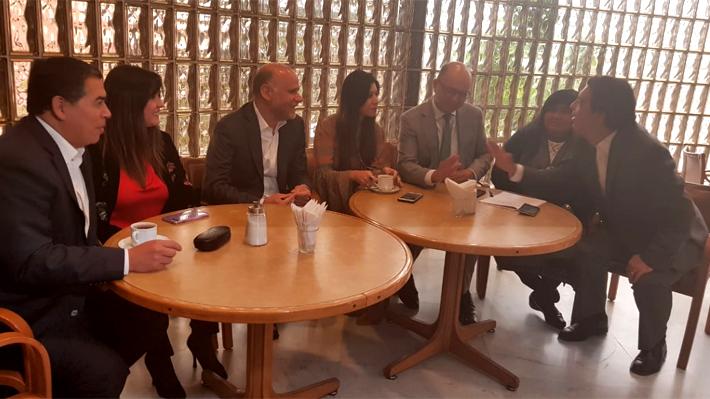 Elecciones internas en el PS: Diputados entregan respaldo a Elizalde ante irrupción de candidatura de Maya Fernández
