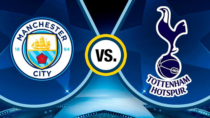 Reviva el espectacular partido entre City y Tottenham por la Champions