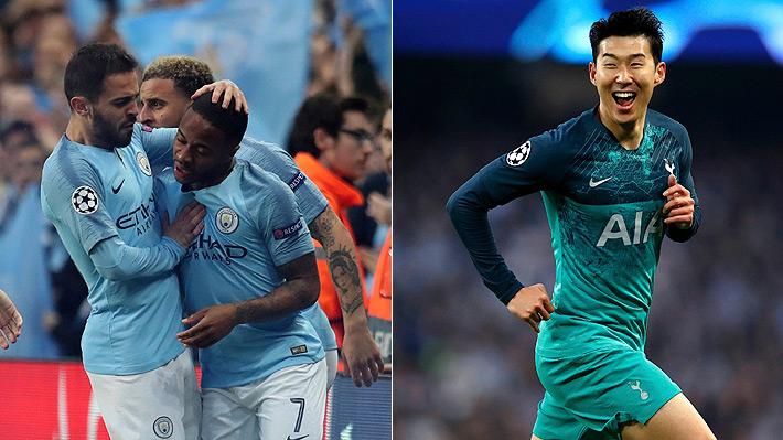 Mira el gol anulado al City que le hubiese dado la clasificación y todos los tantos en el partidazo ante el Tottenham