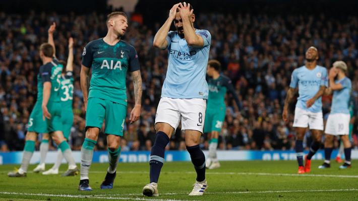 El Manchester City fue eliminado por el Tottenham en un partido épico y otra vez se queda sin Champions