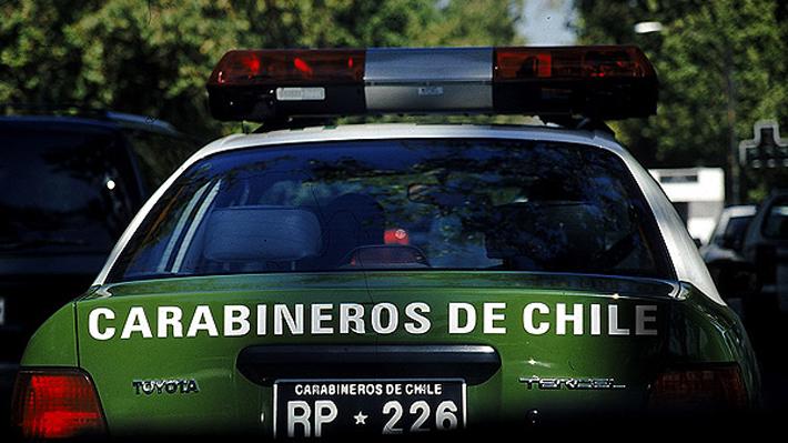 Carabineros detiene a sujeto acusado de apuñalar y asesinar a su pareja en Cerro Navia