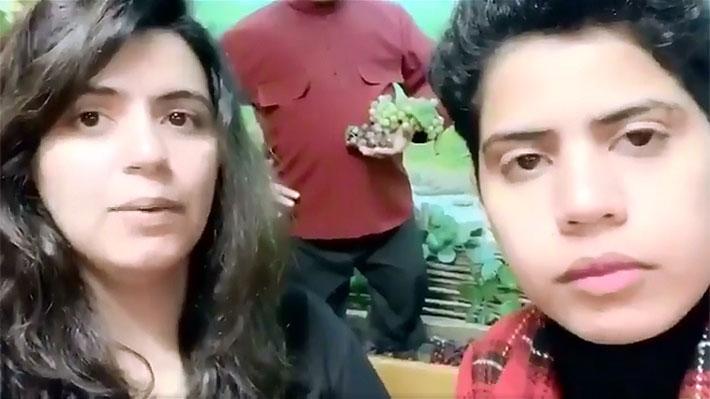 Hermanas que huyeron de Arabia Saudita son invitadas por Georgia a presentar su solicitud de asilo