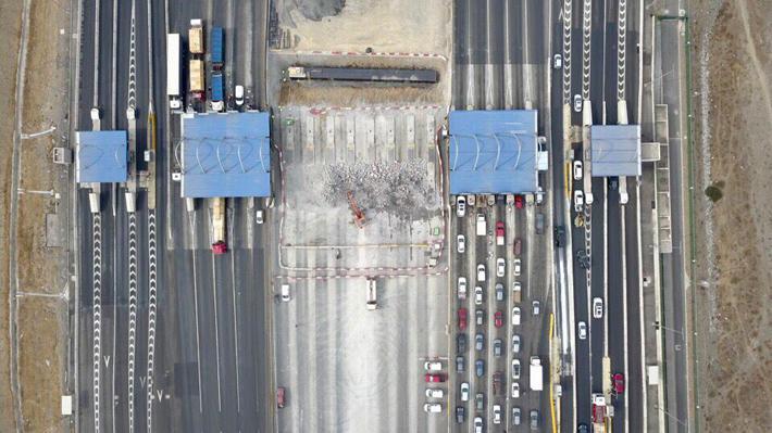 """MOP espera """"mucha congestión"""" a la salida de Santiago entre hoy y el viernes por fin de semana largo"""