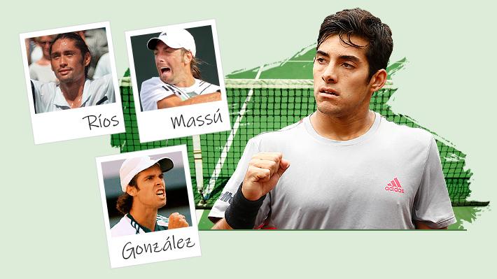 Cómo estaban en el ranking y todo lo que habían ganado Ríos, González y Massú a la misma edad de Garin