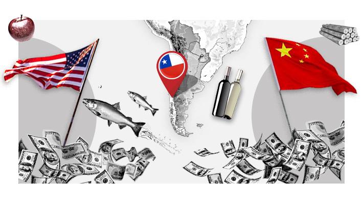 EE.UU. vs. China: La relación económica de Chile con las mayores potencias del mundo