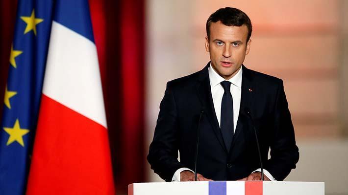 """Popularidad de Macron aumenta con incendio de Notre Dame tras semanas a la baja por crisis de los """"chalecos amarillos"""""""