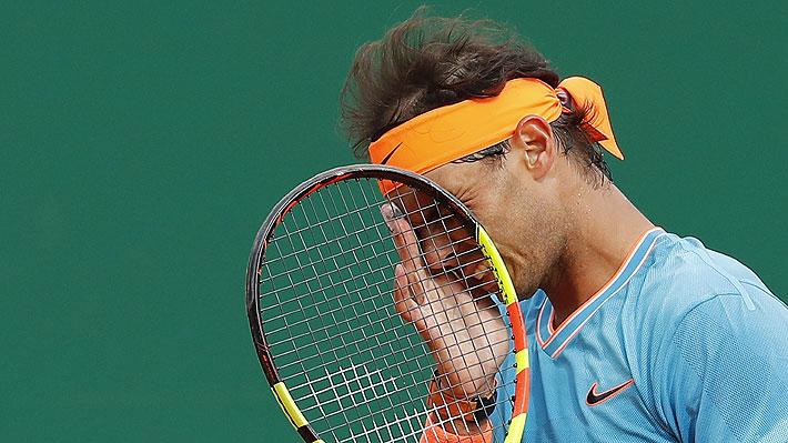 Sorpresa mundial: Nadal cae ante Fognini en semis y no podrá luchar por su duodécimo título en Montecarlo