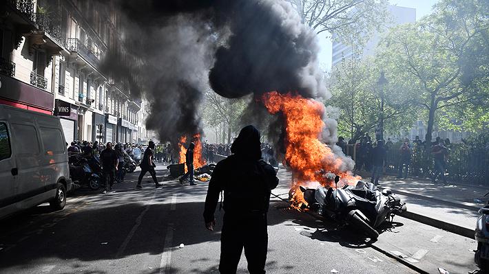 """Llegan a 250 los detenidos en Francia tras una nueva violenta jornada de protesta de los """"chalecos amarillos"""""""