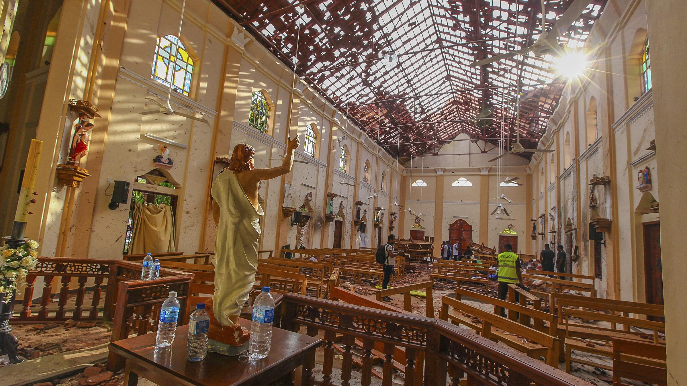 """Gobierno condena """"enérgicamente"""" los ataques explosivos en Sri Lanka e informa que no habría víctimas chilenas"""