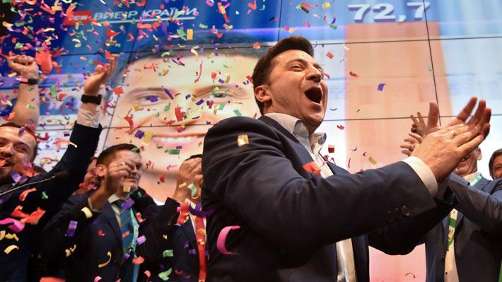 Comediante es el nuevo presidente de Ucrania: Sondeos a boca de urna dan por ganador a Vladímir Zelenski