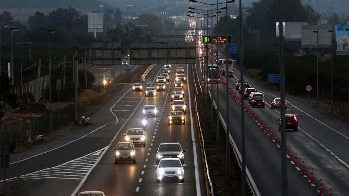 Balance de carreteras por fin de semana largo: Carabineros informa de 21 víctimas fatales y 36 narcotest positivos