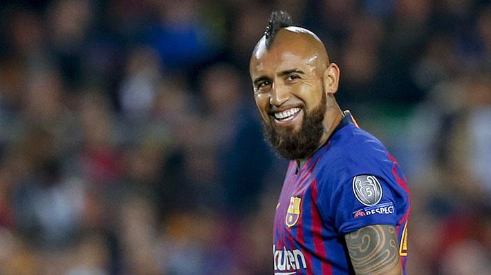 """Vidal es portada en España: Aseguran que el Barça estaría """"encantado"""" con el chileno y buscarían extenderle el contrato"""