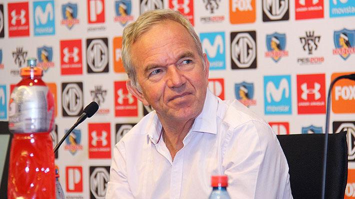 """Ruiz-Tagle anuncia que no repostulará a la presidencia, apunta a Mosa y lanza: """"En Colo Colo estamos dando espectáculo"""""""