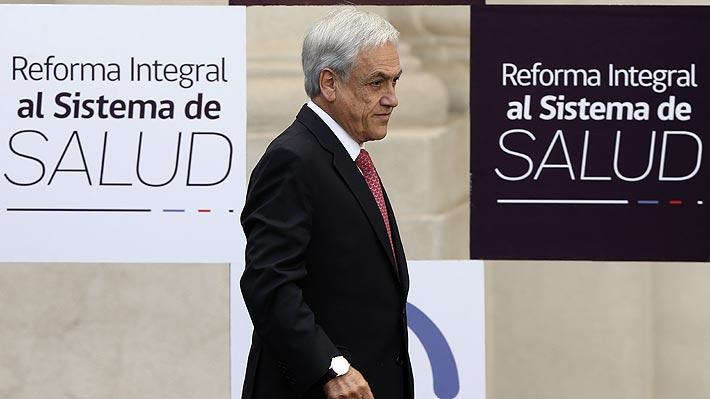 Las claves de la reforma a los sistemas de Fonasa e isapres que anunció el Presidente Piñera