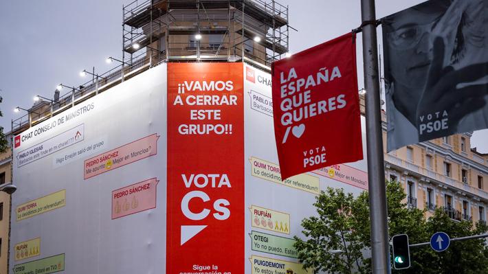 Últimas encuestas confirman victoria del PSOE en España, pero sin mayoría absoluta