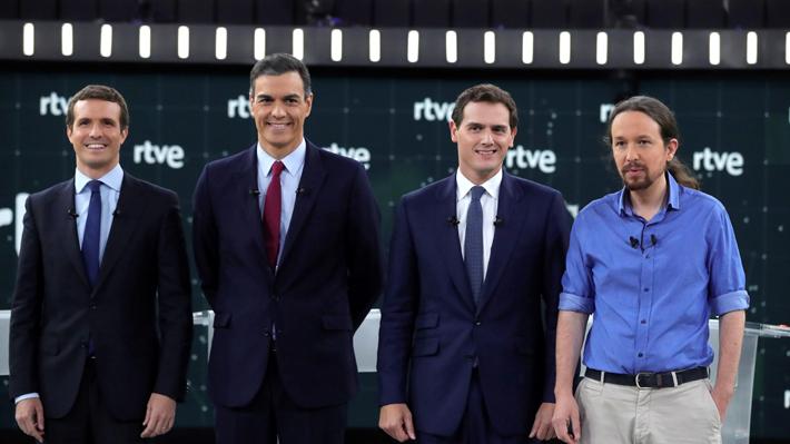 Elecciones en España: Cataluña y la extrema derecha marcan el primer debate presidencial