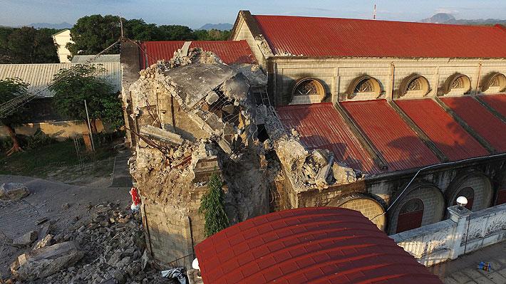 Internacional: Se estima que 16 personas murieron en el terremoto de Filipinas