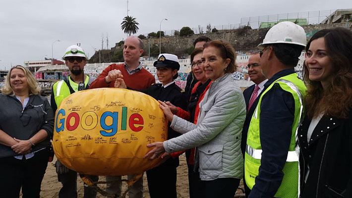 Llega a Chile el primer cable submarino que une Latinoamérica y California a través de Valparaíso