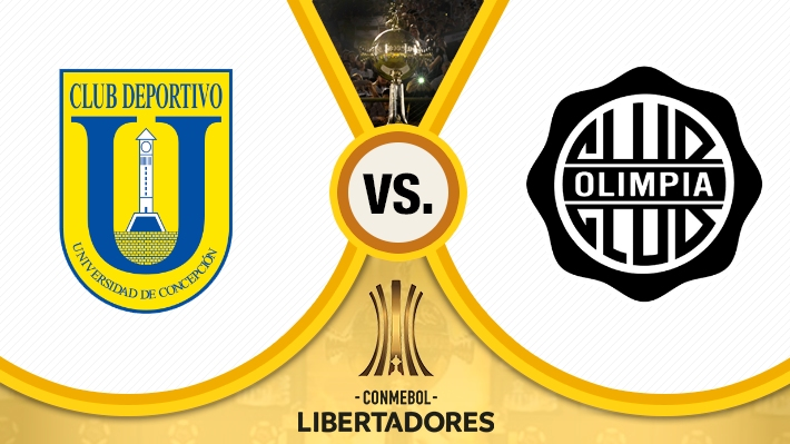 Así fue el empate de Universidad de Concepción y Olimpia por la Copa Libertadores