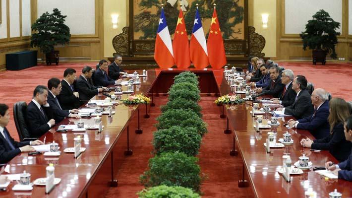 Los 14 temas de la hoja de ruta estratégica firmada por Chile y China con miras al 2019-2022