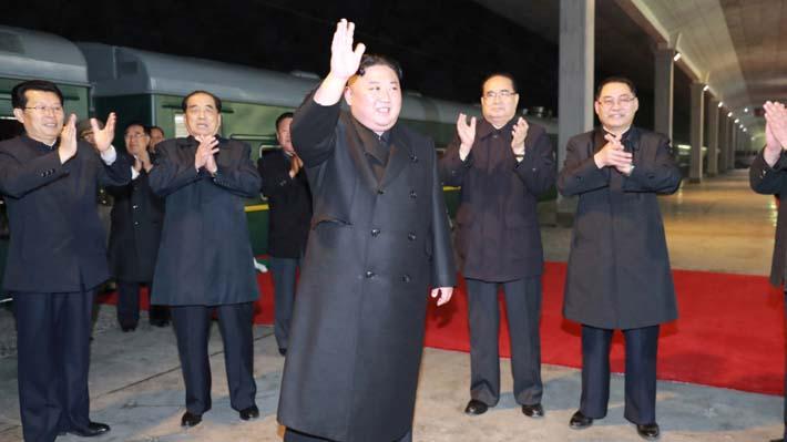 Kim Jong-un llega a Rusia para realizar primera cumbre con el Presidente Vladímir Putin
