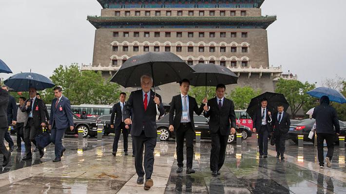 La agenda de Piñera en China: Se reunirá con empresas de electromovilidad y recibirá grado de profesor honoris causa