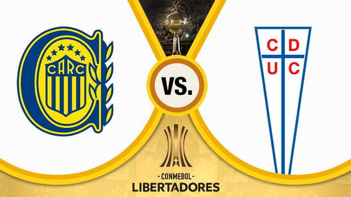 Así se forjó el empate entre la UC y Rosario Central por Libertadores