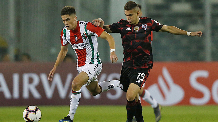 Palestino cayó con River Plate, quedó eliminado de la Libertadores y se aferra a la Sudamericana