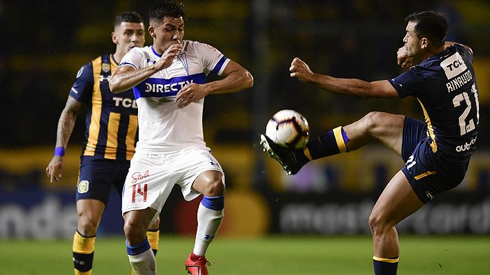 La UC muestra poco, empata con Rosario y solo un triunfo en Brasil le daría el pase a octavos de la Libertadores