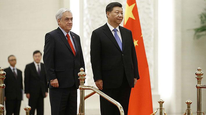 """Piñera respecto a China: """"Cada uno tiene el sistema político que quiera"""""""