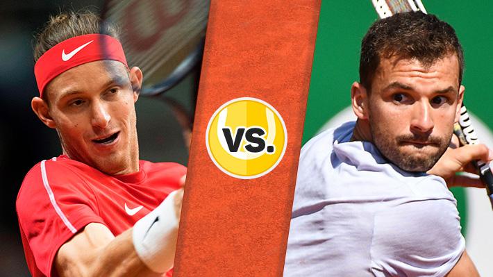 Reviva el triunfazo de Jarry sobre Dimitrov en el ATP de Barcelona