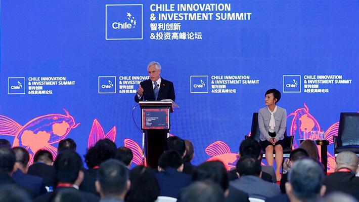 """Tercer día de Piñera en China incluirá intervención en Foro """"Una franja, Una Ruta"""" y visita a la Escuela de Cuadros del PC"""