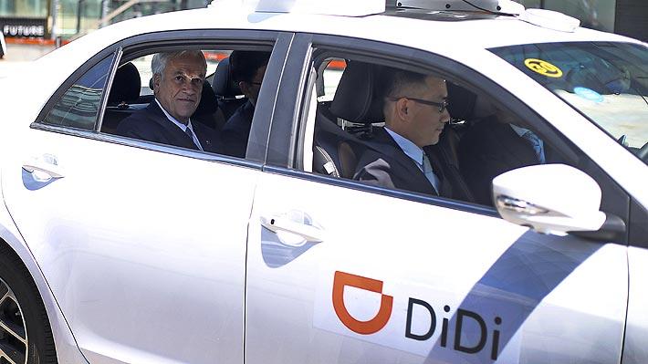 Aplicación china Didi afina su operación en Chile: Lanzará servicios de transporte privado de pasajeros y de taxis