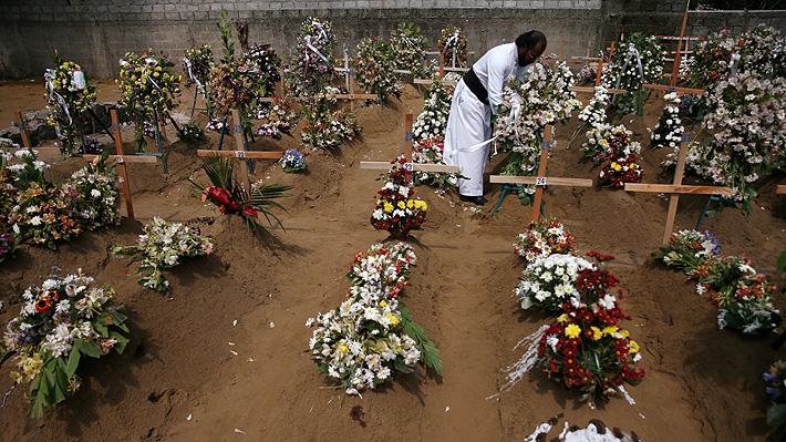Sri Lanka rebaja en casi un centenar el número de muertos por atentados del domingo