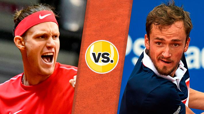 Repase la caída de Jarry ante Medvedev en el ATP de Barcelona