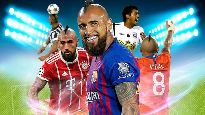 """Las conquistas del """"Rey Arturo"""": Conoce los 20 títulos que ha logrado Vidal en su carrera"""