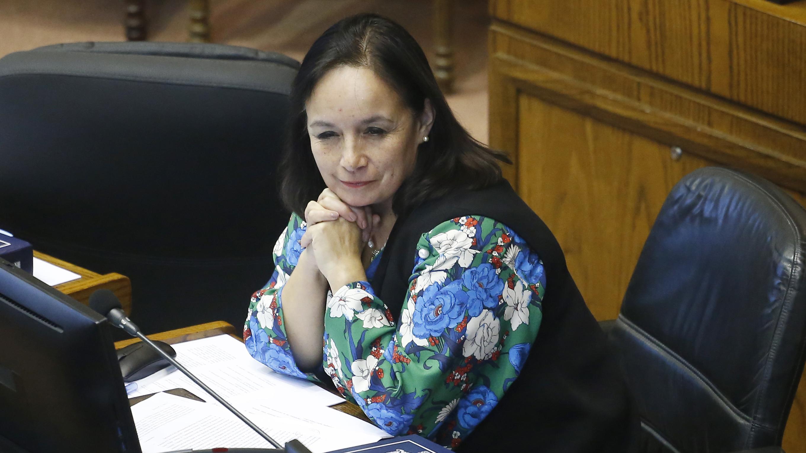 Electa con el 1,24% y contraria al matrimonio igualitario: Senadora Aravena renuncia a Evópoli